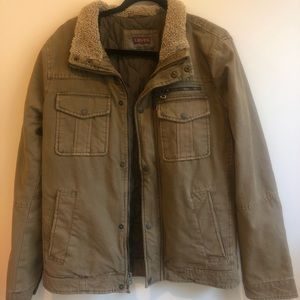 Levi's Army Green Utility Jacket